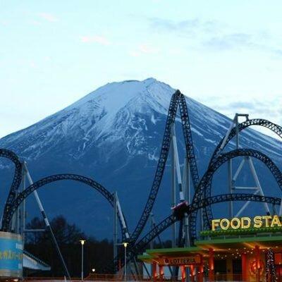 Lugares para ver o Monte Fuji – Parque Fuji Q-Highland