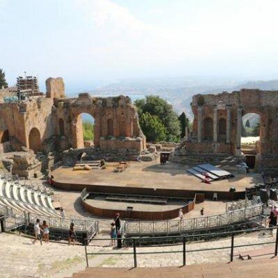 Taormina: Praias e Teatro Grego