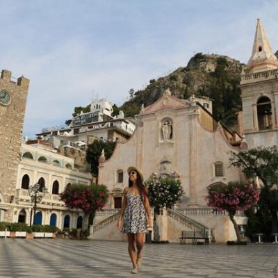 Elegante e charmosa Taormina