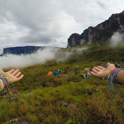 Monte Roraima- Dia 2 – Acampamento Base
