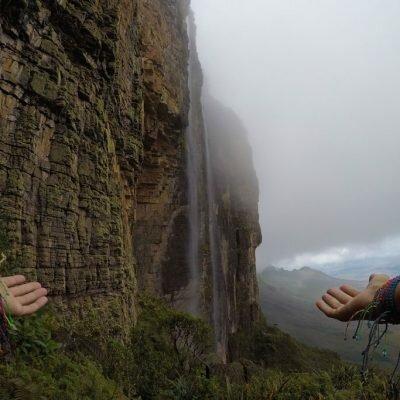 Subindo o Monte Roraima