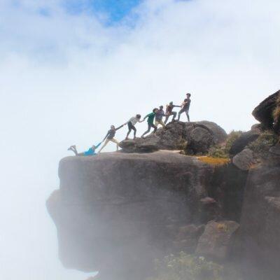 Como é o topo do Monte Roraima