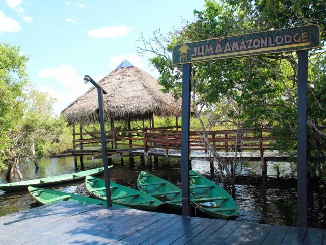 Hotel de selva Juma Amazon Lodge