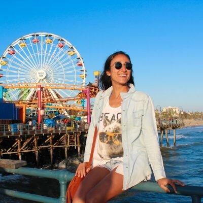 Um dia em Santa Monica – California