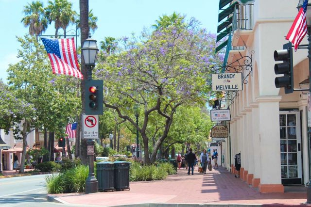 State Street - Santa Barbara - California