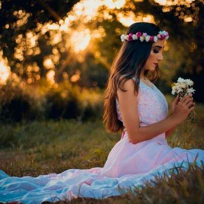 Ensaio Fotográfico Plantação de Flores