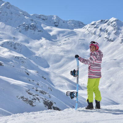 Snowboard no Club Med Val Thorens Sensations