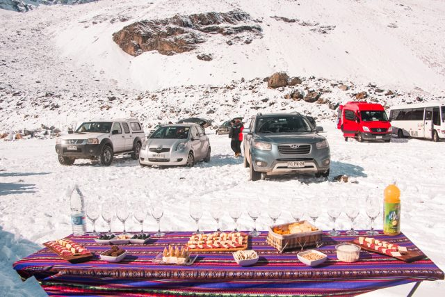Picnic no Embalse El Yeso