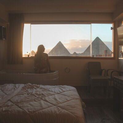 Melhor Hotel com vista das pirâmides do Egito